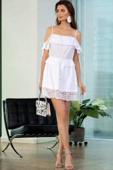 Платье Vesnaletto 1717-2 белый