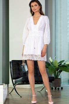 Платье Vesnaletto 1720-2 белый