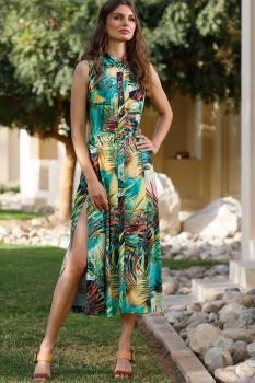 Платье Vesnaletto 1721-1 зеленый