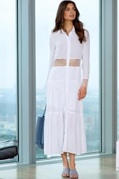 Платье Vesnaletto 1743-2 белый