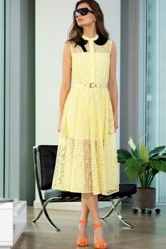 Платье Vesnaletto 1758 желтый