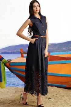 Платье Vesnaletto 890-3 синий