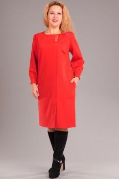 Платье Via-Mod 312-2 красный