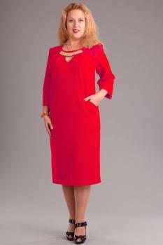 Платье Via-Mod 313-3 красный