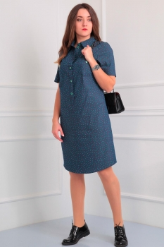 Платье Via-Mod 353-6 звездочки