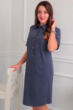 Платье Via-Mod 353-7 мелкие-горохи
