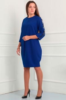 Платье Via-Mod 381 васильковый