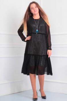 Платье Via-Mod 383 черный