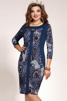 Платье Vittoria Queen 4493 Синий