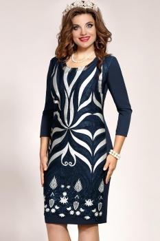 Платье Vittoria Queen 4563/1 Темно-синий