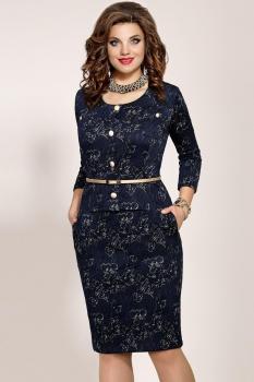 Платье Vittoria Queen 4863 Темно-синий