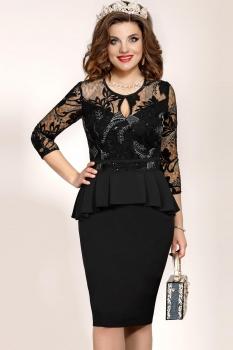 Платье Vittoria Queen 5033 Черный