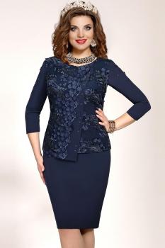 Платье Vittoria Queen 5063/2 Темно-синий