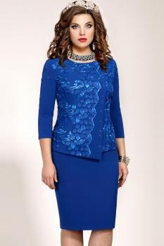 Платье Vittoria Queen 5063/3 Василек
