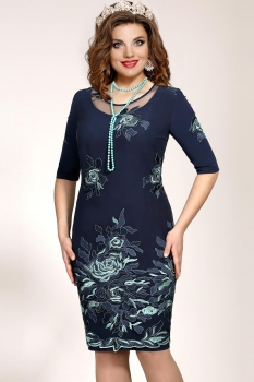 Платье Vittoria Queen 5093/2 Темно-синий