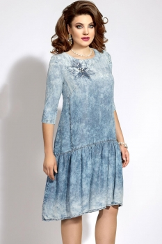 Платье Vittoria Queen 5473 голубой