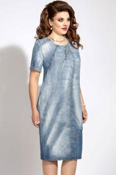 Платье Vittoria Queen 5543 голубой