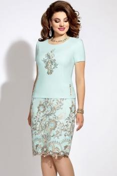 Платье Vittoria Queen 5913/2 бирюзовый