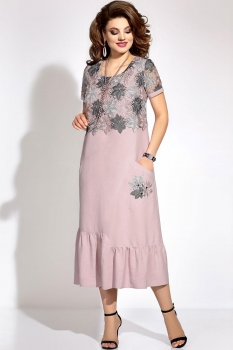 Платье Vittoria Queen 6023 розовый