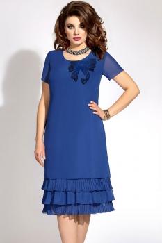 Платье Vittoria Queen 6043/1 синий