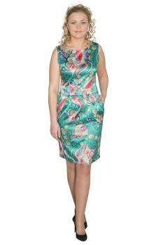 Платье Zlata 1457 зеленый