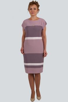 Платье Zlata 4092 сиреневые тона