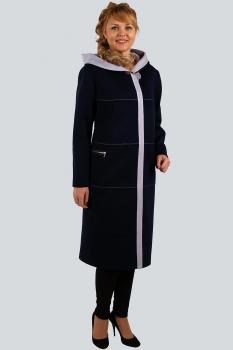 Пальто Zlata 4109-1 синий