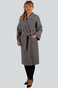 Пальто Zlata 4132 серый